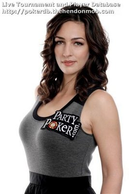 kara scott top poker tits 9 10 50 babes female lady ladies poker players