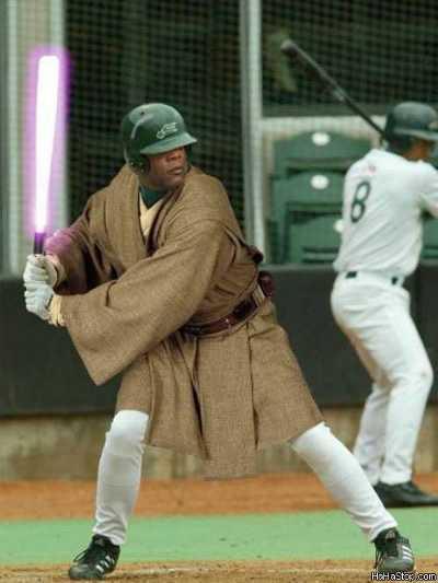 funny baseball pictures photographs images star wars jedi light sabre saber
