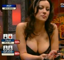 jennifer tilly tits boobs cleavage top 2 5 10 20 25 female poker players ladies