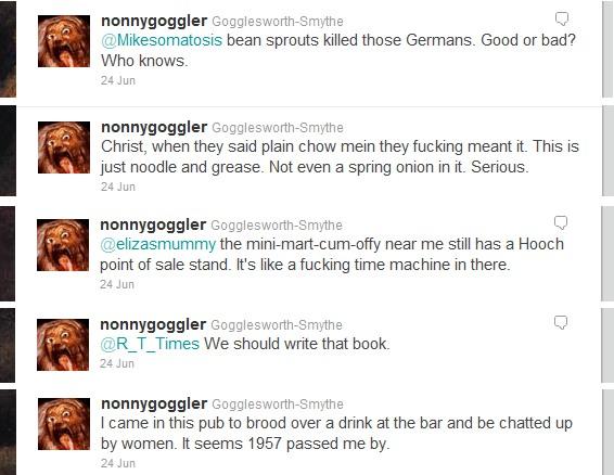 real twitter conversations nonnygoggler prpper tweets