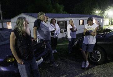 white trailer trash murder killing spree about food