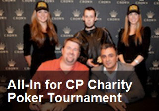 All-In for CP charity poker tournament